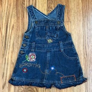 Other - 🌷Baby girl jean overall dress
